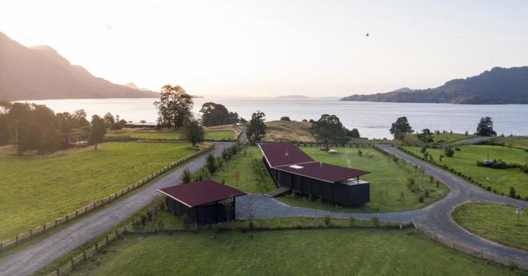 Uma espetacular casa modular para passar férias