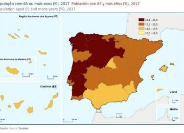A velhice em Portugal e Espanha à lupa