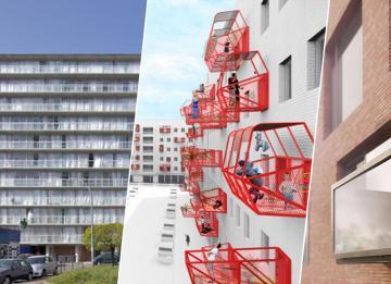 Varandas pré-fabricadas: a solução para as casas sem espaços ao ar livre