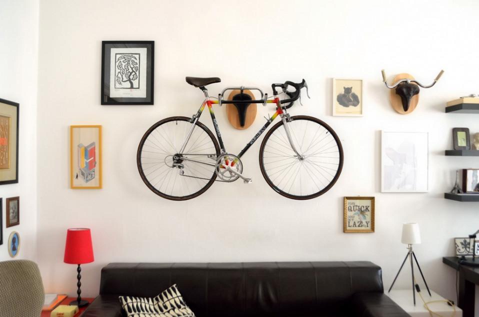A tua bicicleta pode tornar-se num objeto decorativo