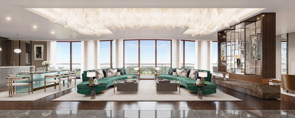 O projeto de luxo será construído a poucos metros do Palácio de Kensington