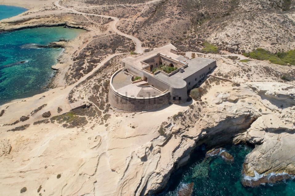 Uma antiga fortaleza que agora é uma casa