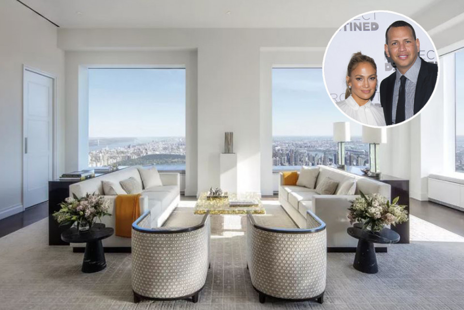 O apartamento fica no luxuoso edifício 432 Park Avenue