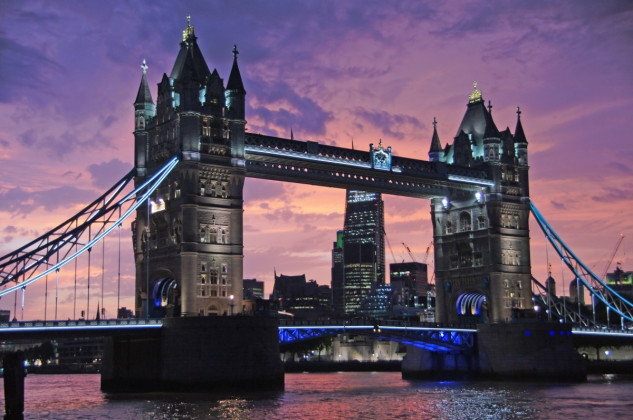 5 - Londres (131.4 pontos)