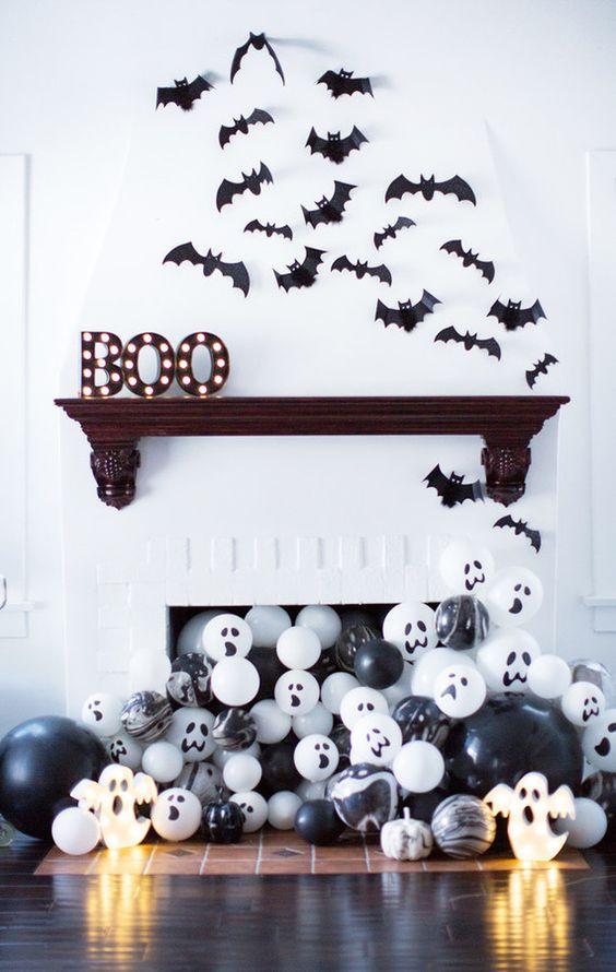Morcegos nas paredes