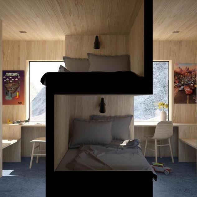 Um quarto ´diferente´