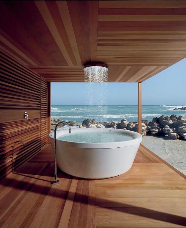 Que dizer desta banheira?