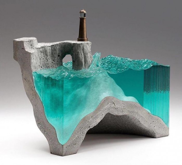 Uma escultura simplesmente deslumbrante