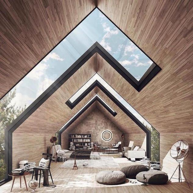 Uma casa geométrica... em Portugal