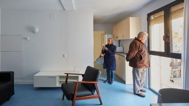 As casas tem entre 30 e 60 m2