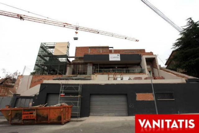 a nova casa de shakira e piqué ainda está em construção (fonte: vanitatis)