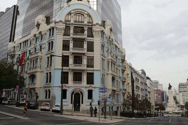 Edifício onde José Sócrates viveu em Lisboa