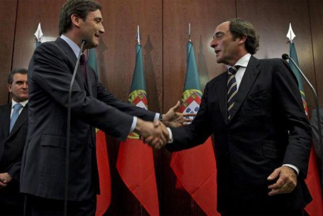 Passos Coelho e Paulo Portas integram a lista VIP.