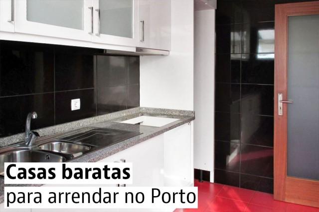 Casas baratas para arrendar no Porto