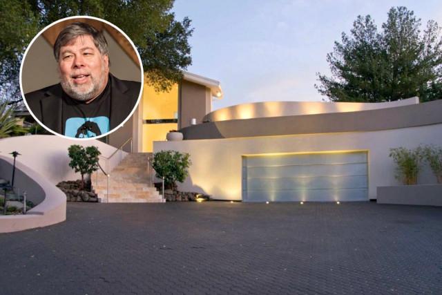 Steve Wozniak, cofundador da Apple, vende a mansão que ele