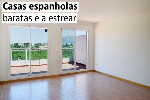 Casas espanholas baratas e a estrear