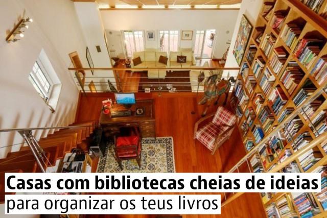 Casas com bibliotecas para celebrar o Dia do Livro 2016