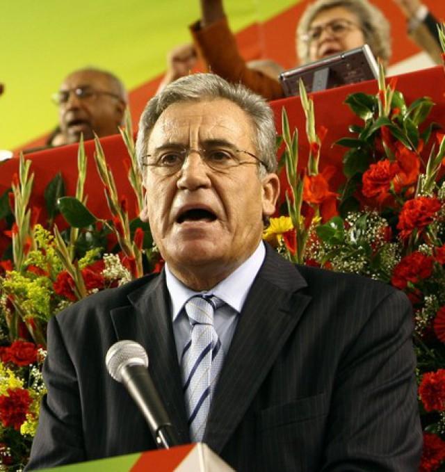 PCP, liderado por Jerónimo de Sousa, é o partido com maior património imobiliário / Wikimedia commons