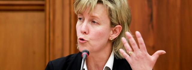 Maria Luís Albuquerque era a ministra das Finanças no período em análise pelo TC (foto do JdN)