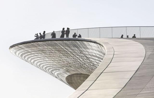 O MAAT – Museu de Arte, Arquitetura e Tecnologia abriu em outubro (Fotos: Bloomberg).