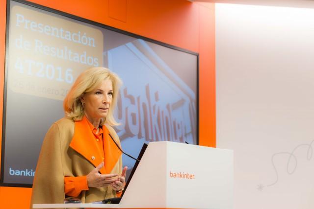 Presidente do Bankinter, na apresentação de resultados anuais