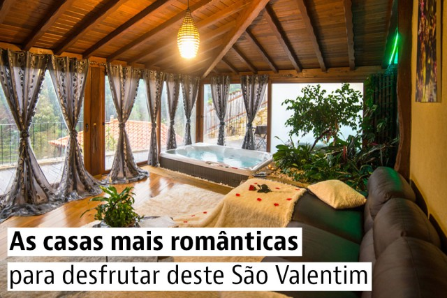 Casas românticas para comemorar o Dia dos Namorados