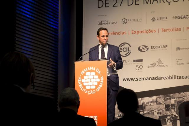 Fernando Medina, presidente da Câmara Municipal de Lisboa. / Ricardo Novais Pereira