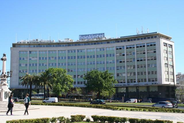 Nova sede do Bankinter em Portugal, no edifício Marquês de Pombal 13. / JLL