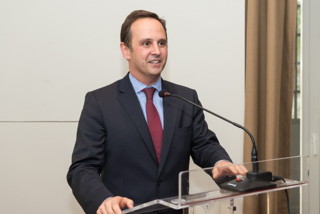 Fernando Medina, presidente da Câmara Municipal de Lisboa. / CML