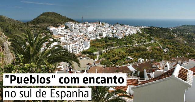 Pueblos com encanto no sul de Espanha