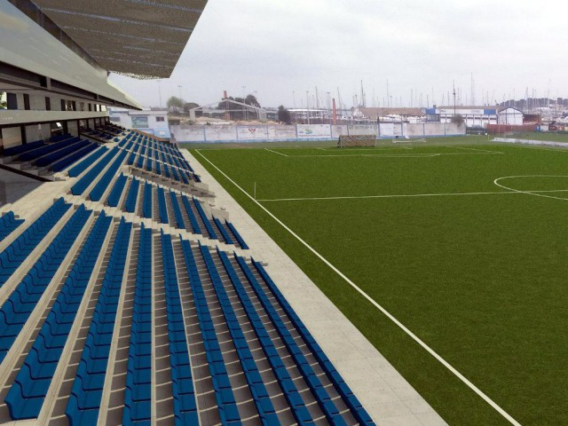 Projeto do novo estádio do Amora Futebol Clube. / Maisfutebol