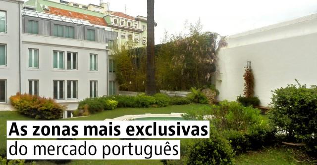 As zonas mais exclusivas do mercado português