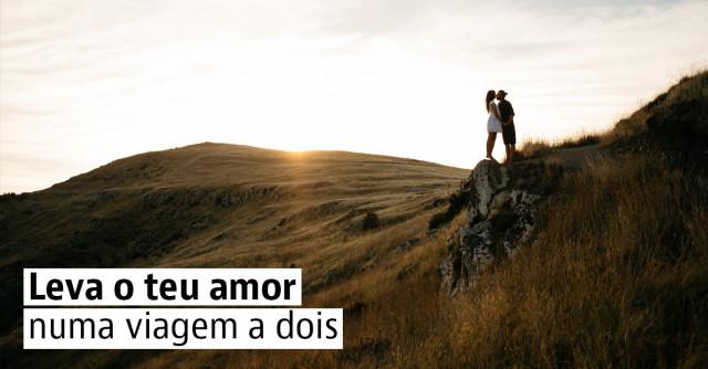 Leva o teu amor numa viagem a dois