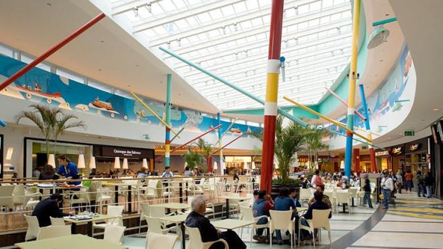 O RioSul Shopping, no Seixal, é um dos centros comerciais que será vendido  / RioSul Shopping