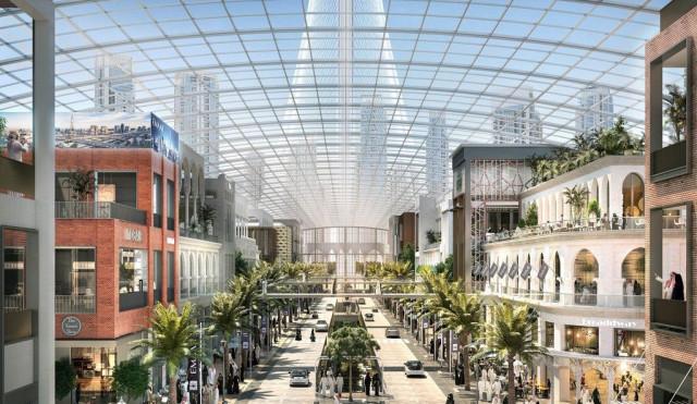 Assim será o maior centro comercial do mundo