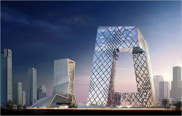 Central China Television, Pequim, China / filmapia.com @architectureartdesigns.com