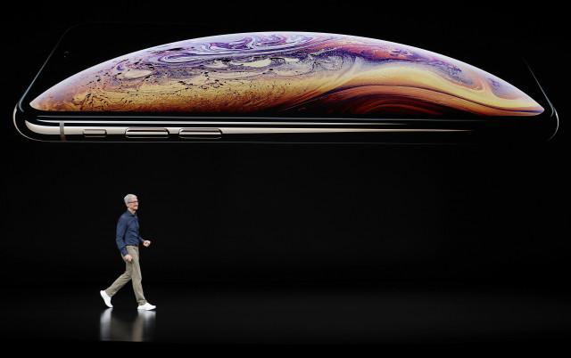 O CEO Tim Cook, na apresentação do iPhone XS / Gtres
