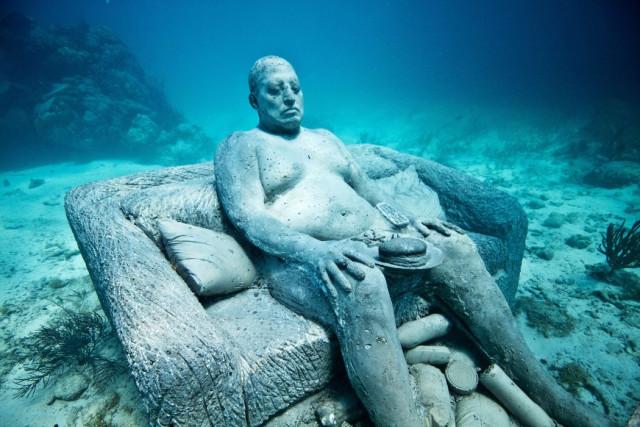 Museu Subaquático de Arte de Cancún (México) / JASON DE CAIRES TAYLOR