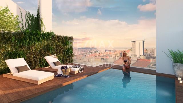 Assim será a piscina do futuro Saldanha Modern / Siimgroup