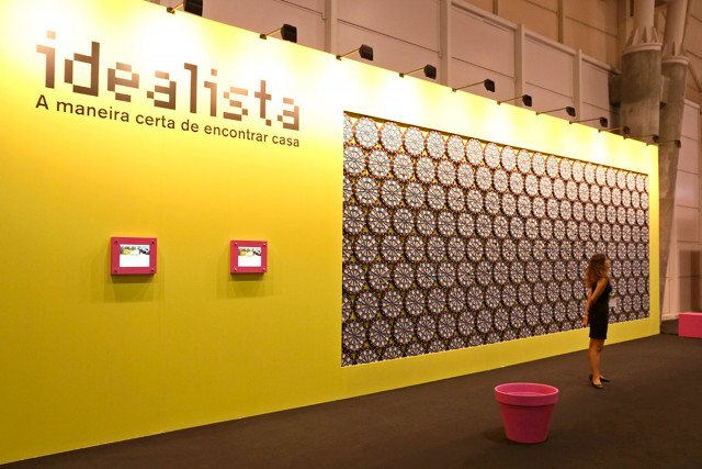 Assim era o stand do idealista no SIL 2017