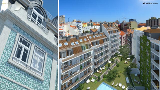 O Duque 70, em Lisboa, é um dos projetos que está a ser comercializado pela Habitat Invest / Habitat Invest