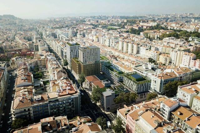 O Portvgália's Plaza é um dos projetos imobiliários que está a fazer ressuscitar a zona do Intendente / Essentia