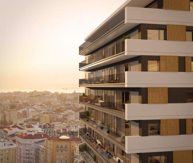 A A'Tower terá 15 pisos acima do solo e três pisos de estacionamento / Vanguard Properties