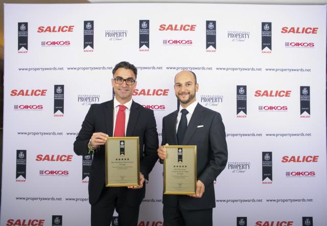 Dois projetos do Ombria Resort, no Algarve com a marca Viceroy, galardoados nos European Property Awards.  / Ombria Resort