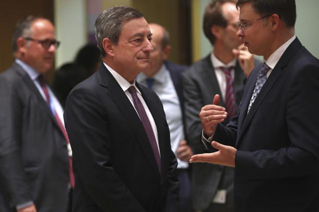 O presidente do BCE, Mario Mario Draghi / Gtres
