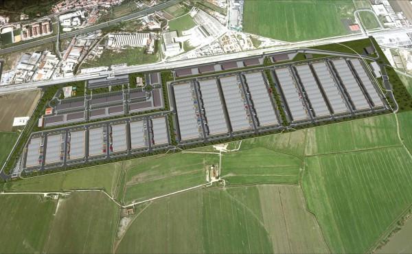 Plataforma Logística Lisboa Norte está localizada em Castanheira do Ribatejo / Merlin Properties