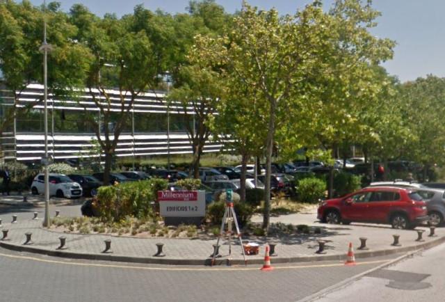 São 3.400 m2 de escritórios / Google Maps