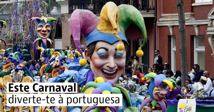 Os melhores destinos para desfrutar o Carnaval em Portugal