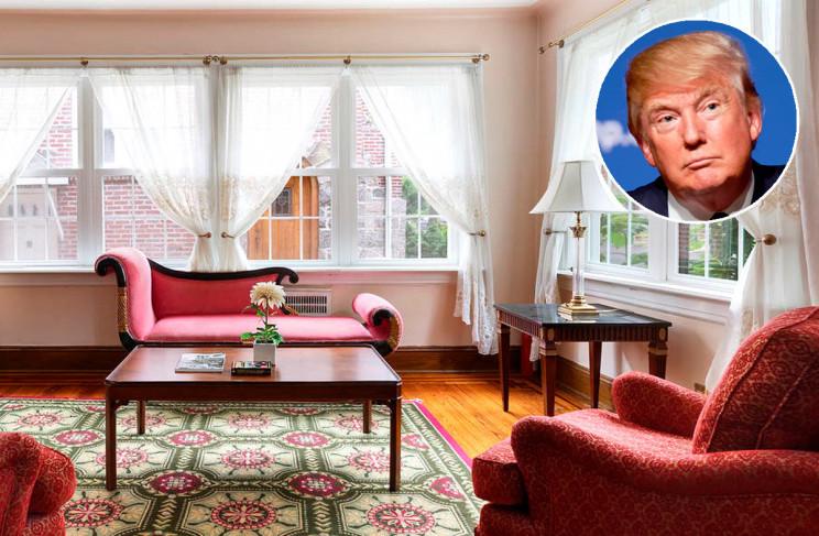A casa está localizada em Queens, Nova Iorque