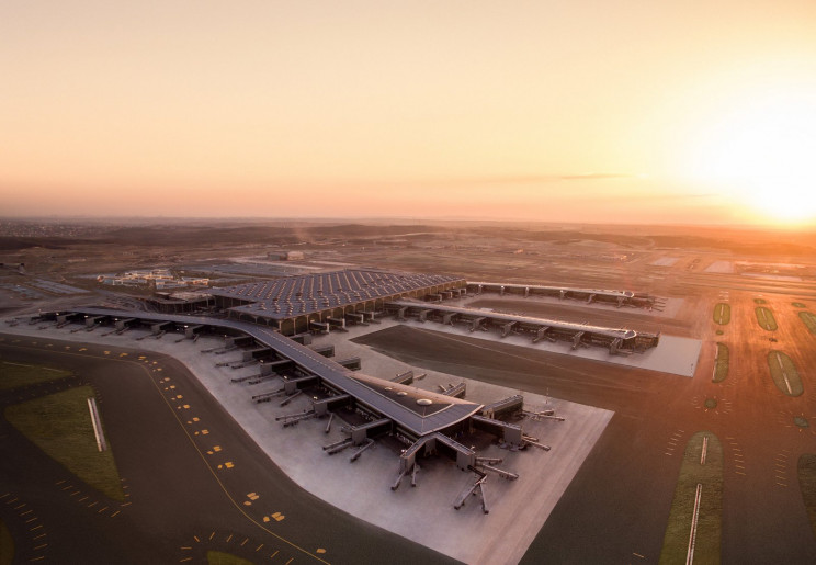 O aeroporto já tem três pistas